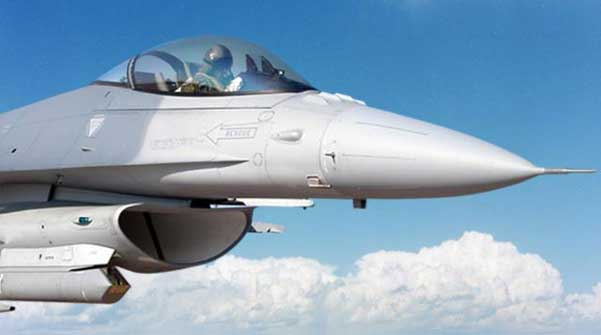 Pakistan Air Force F-16 Sniper Targeting PODS