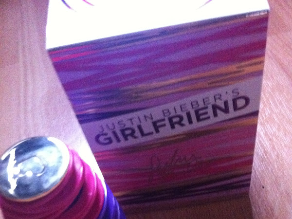 Justin Bieber - Girlfriend parfum.