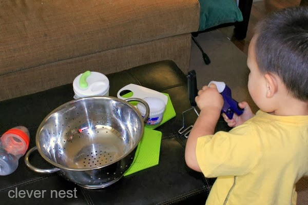 Kitchen in a box, and 21 other ways to occupy a Toddler while Preggo! #free #99cent #clevernest #maternity #roundup #bedrest #sickday #preschool #thirdtrimester