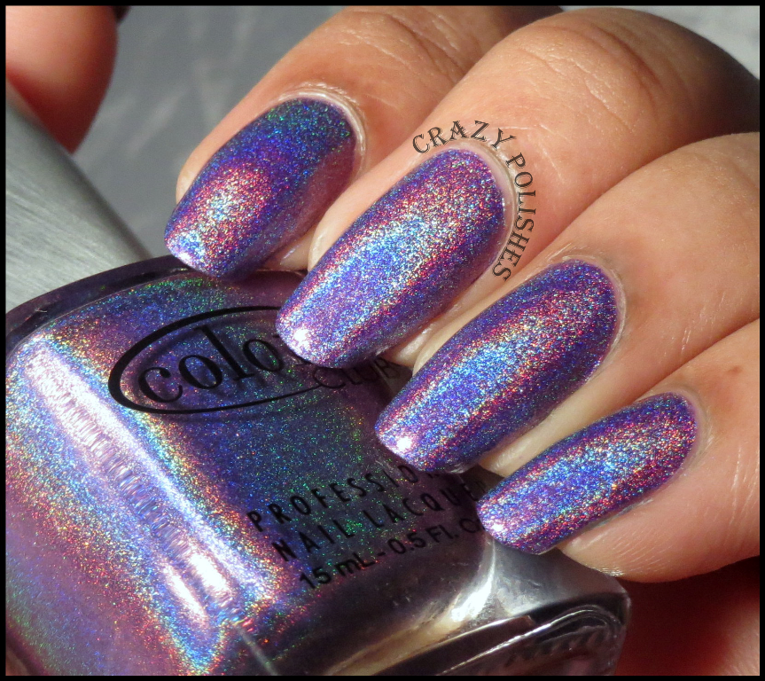 Color Club Holographic Nail Polish Swatches