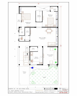 30 x50 home plan home floorplans ~ home plan and house design ideas