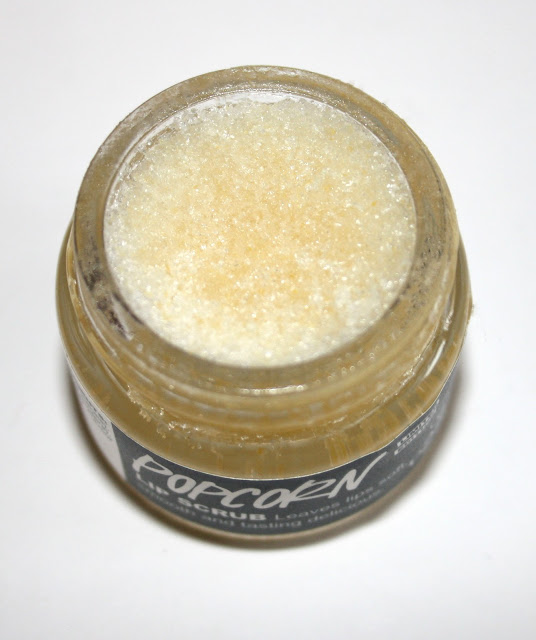 Lush Popcorn Lip scrub