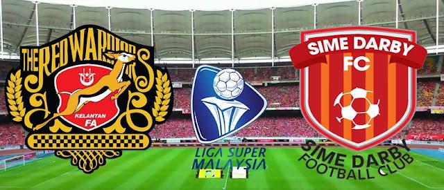 Keputusan Terkini Kelantan vs Sime Darby 25 Julai 2015