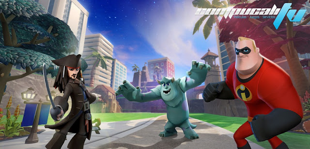 Disney Infinity Xbox 360 Español Región Free XGD2