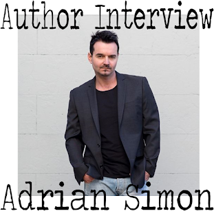 Author Interview, Books For Men, Adrian Simon, Milk-Blood, Warren Fellows, The Damage Done