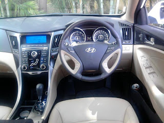 new hyundai sonata interior view