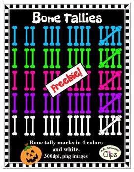 Free Bone Tallies Clipart