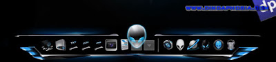 Rocket Dock + Docklets + Skins AlienWare 3in1 ( Free Download )