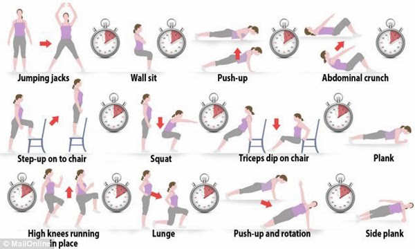تمارين منزلية روتينية تساعدك على فقد الوزن وتقوية العضلات ...