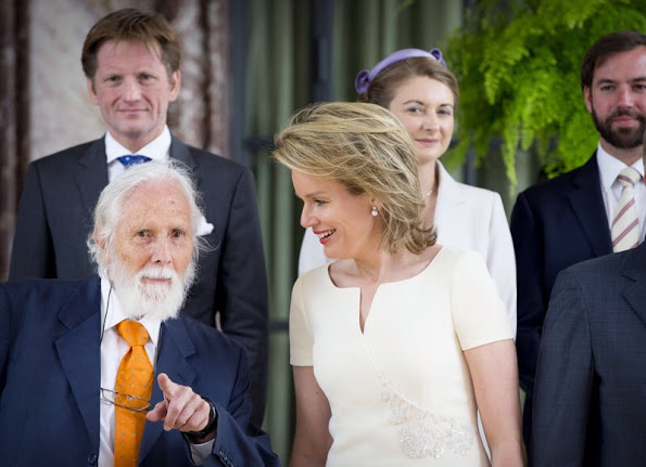 Belgian Royals commemorate 200th Annivarsary Of The Battle Of Waterloo