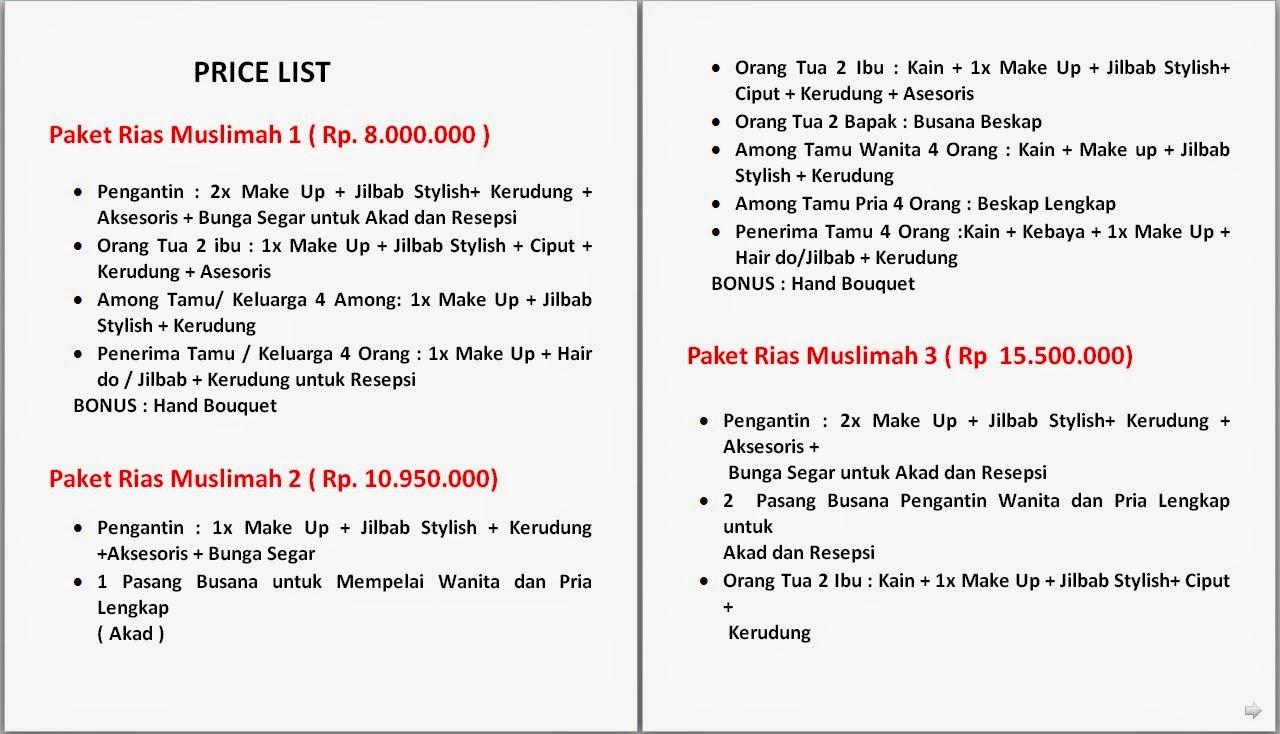 Wedding Decoration Price List Jakarta Image Collections