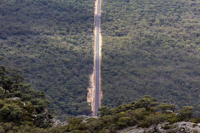 grampians tourist road from mount abrupt