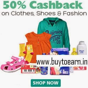 Baby & Kids Products 50% Cashback on Rs. 150 on Firstcry