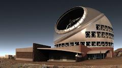 Após ficar pronto em 2018, o telescópio será o maior do mundo. (Crédito: Thirty Meter Telescope / A