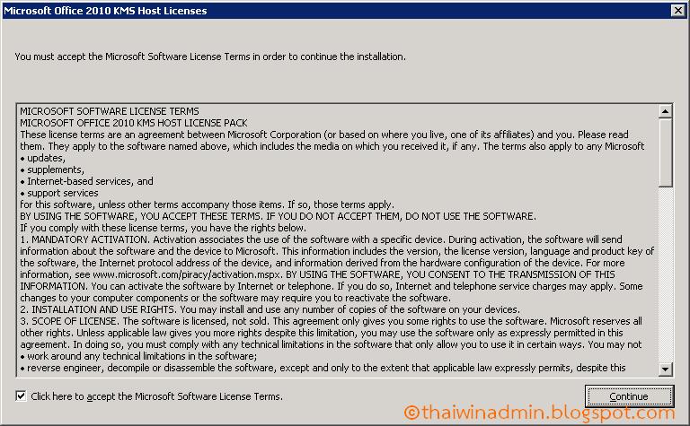 Office 2016 MSI installer volume license incompatible