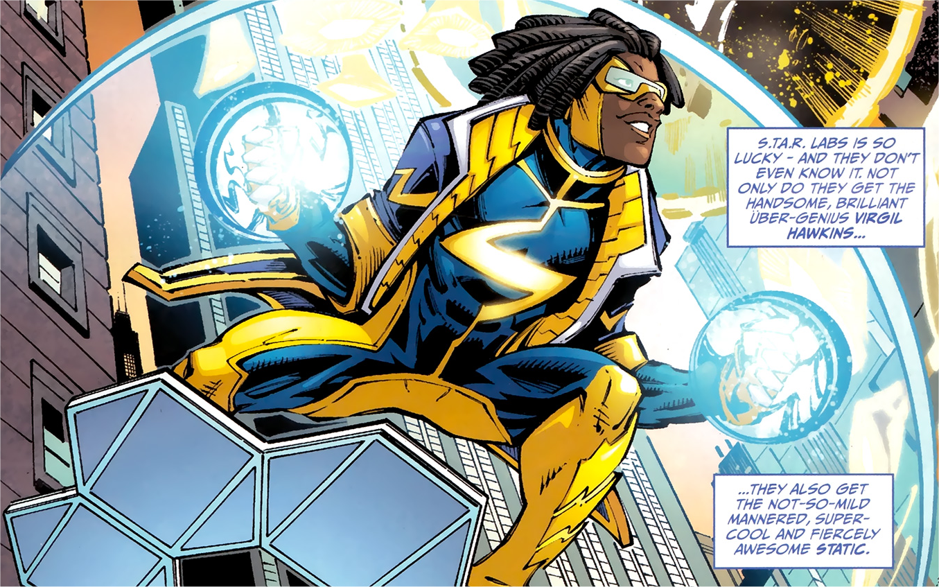 Static shock teen titans