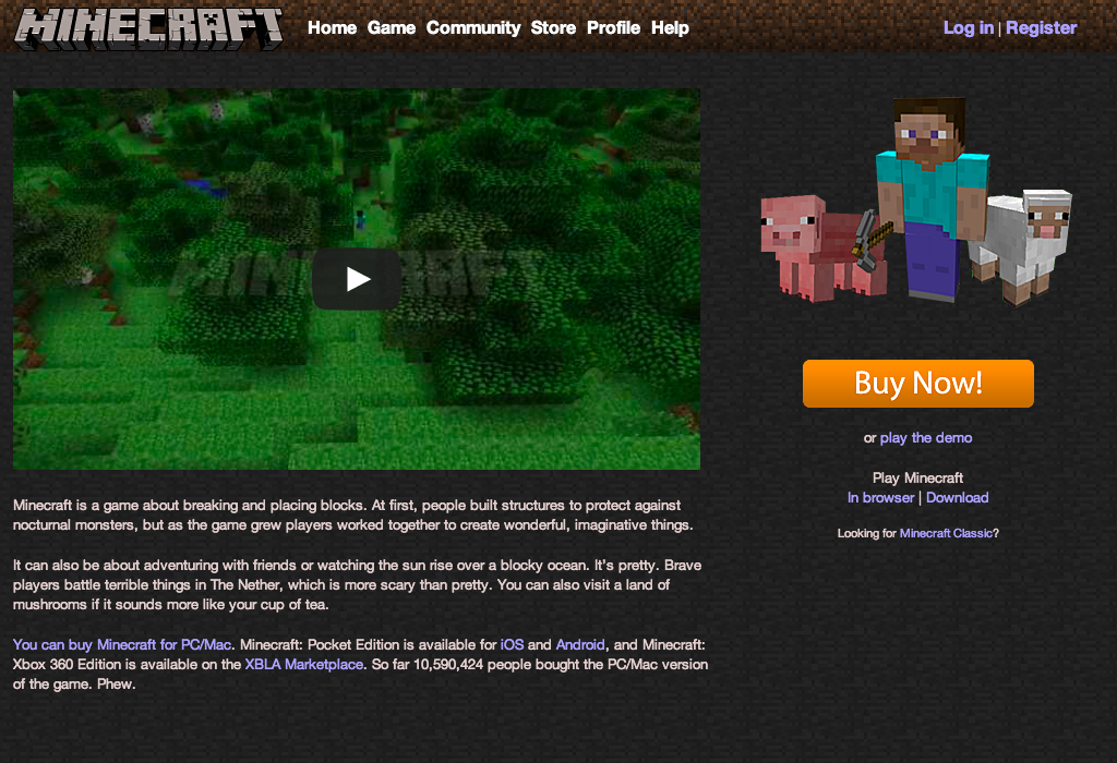 minecraft download for pc full game