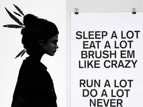 Type + Illustration Inspiration: Never