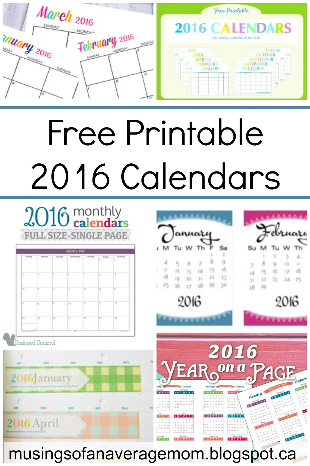 Printable 2016 Date Night Calendar | Calendar Template 2016