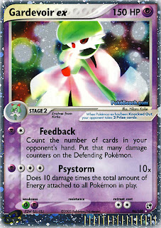 Gardevoir ex Pokemon Card EX Sandstorm Set
