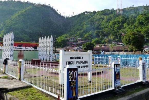 Wisata Sejarah Monumen Tugu Pepera Jayapura