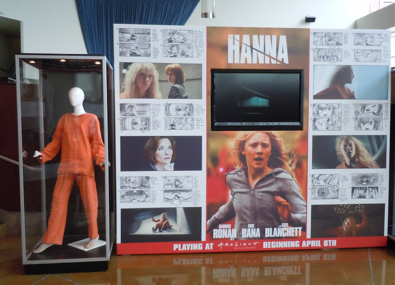 Hanna movie costume display