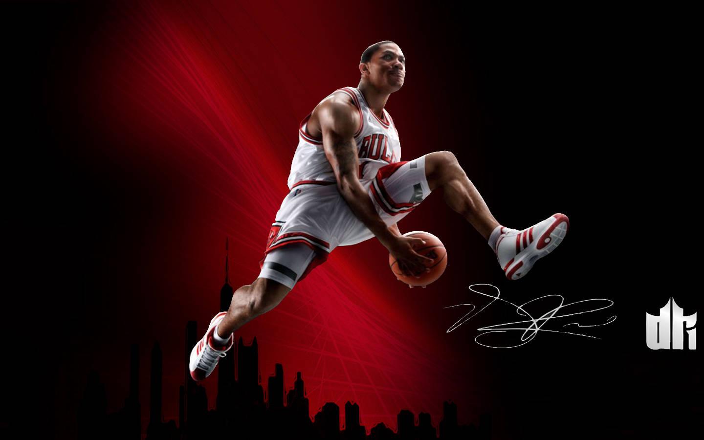 derrick rose desktop wallpaper nba playoff bracket 2012