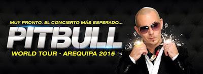 Pitbull en Arequipa 2015