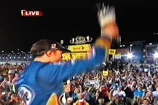 Brad Keselowski drunk Champion TV