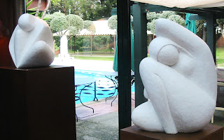 Statues femmes nues style contemporain