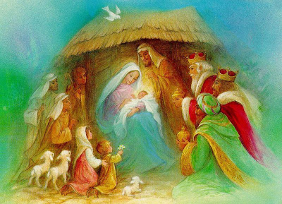 Nacimiento de Jesucristo en Navidad
