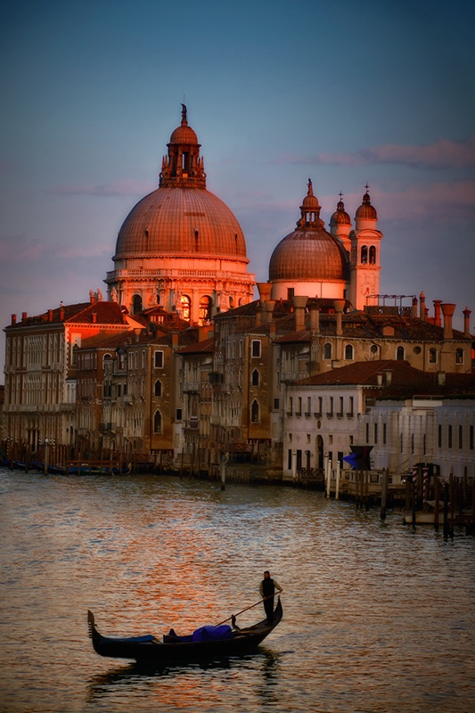 venecia,gondolas
