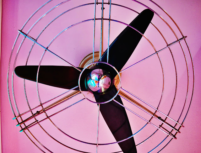Ceiling Fan at Hotel Bazar Rotterdam