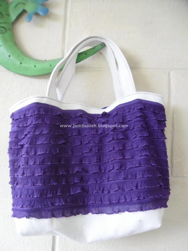 Knit Pattern Ruffle Bag : Creating my way to Success: Ruffle knit bags! - a tutorial