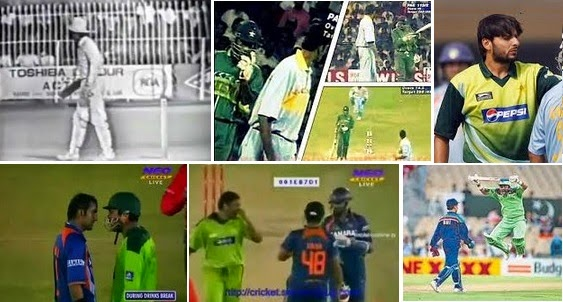 Biggest Fights in World Cup - India vs Pakistan Images