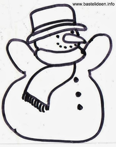 Winter Ausmalbilder mit tollen Schneemann – Malvorlagen - ausmalen schneemann malvorlagen