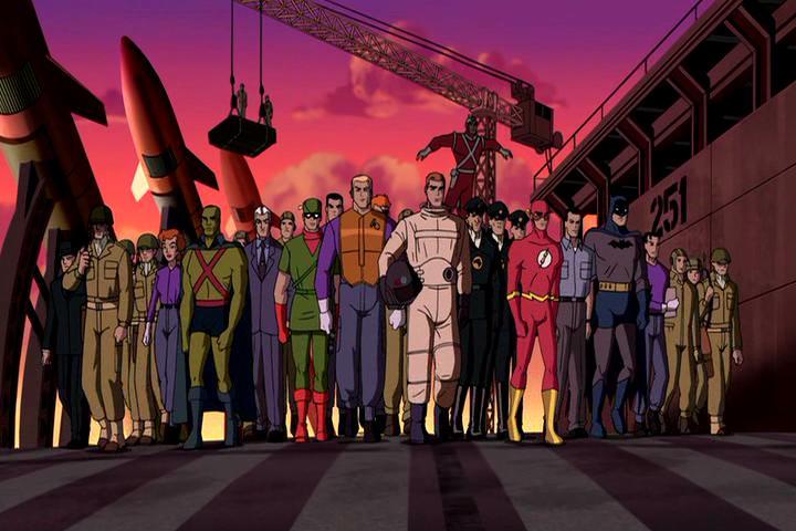 Justice League: The New Frontier - Những Siêu Nhân Công Lý: Biên Giới Mới - 2008