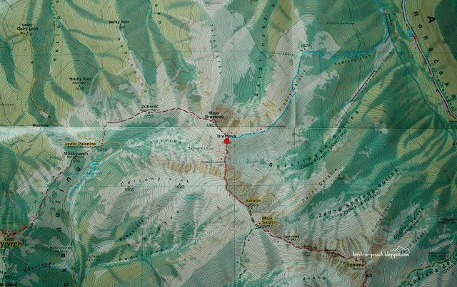 Brestowa na mapie