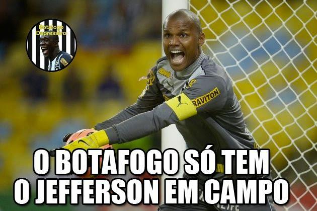 O time do Botafogo é mais feio que bater em mãe