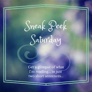 Sneak Peek Saturday on Reading List  a glimpse into what I am reading currently