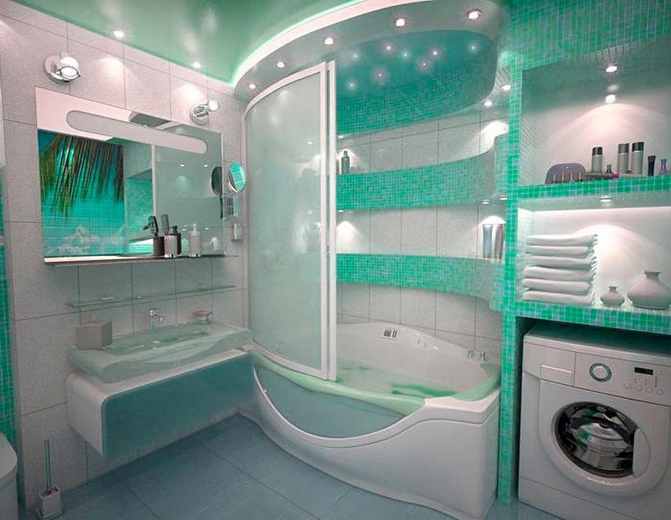 Ванна дизайн в квартире