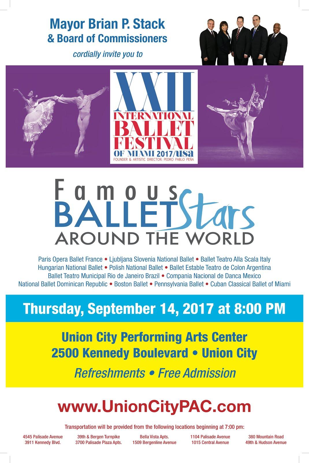 Ballet Festival in NJ