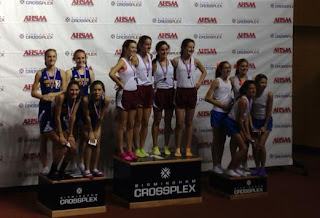 Montgomery Catholic Indoor Track does well at State 1
