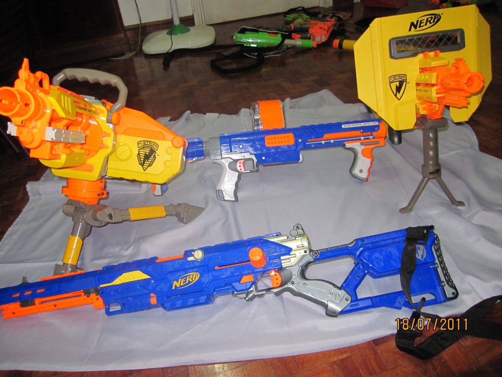 Write For Fun My Nerf Gun Equipment Collection Part 2