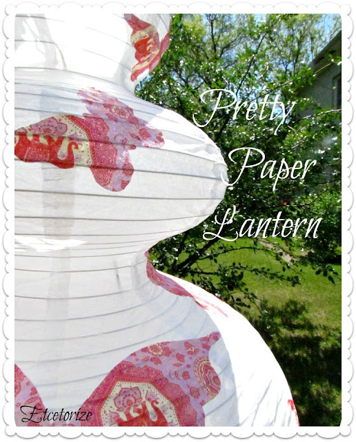 paper lantern, decorate paper lantern, pretty lanterns, how to paper lantern