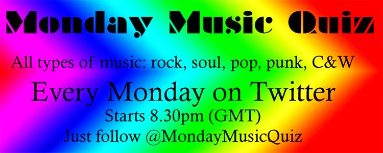 Monday Music Quiz