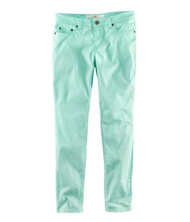 H&M pantalón menta