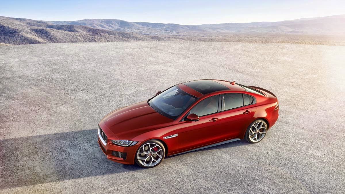 News - All-new 2016 Jaguar XE luxury sedan makes its official debut