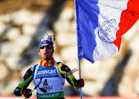 Martin Fourcade champion du monde biathlon