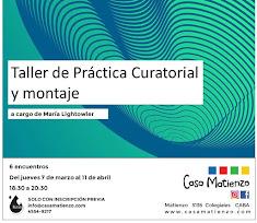 Taller de Práctica Curatorial y Montaje (Organizado por Lluvia Oficina)